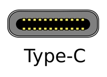 USB3.1 Type-Cコネクタ形状